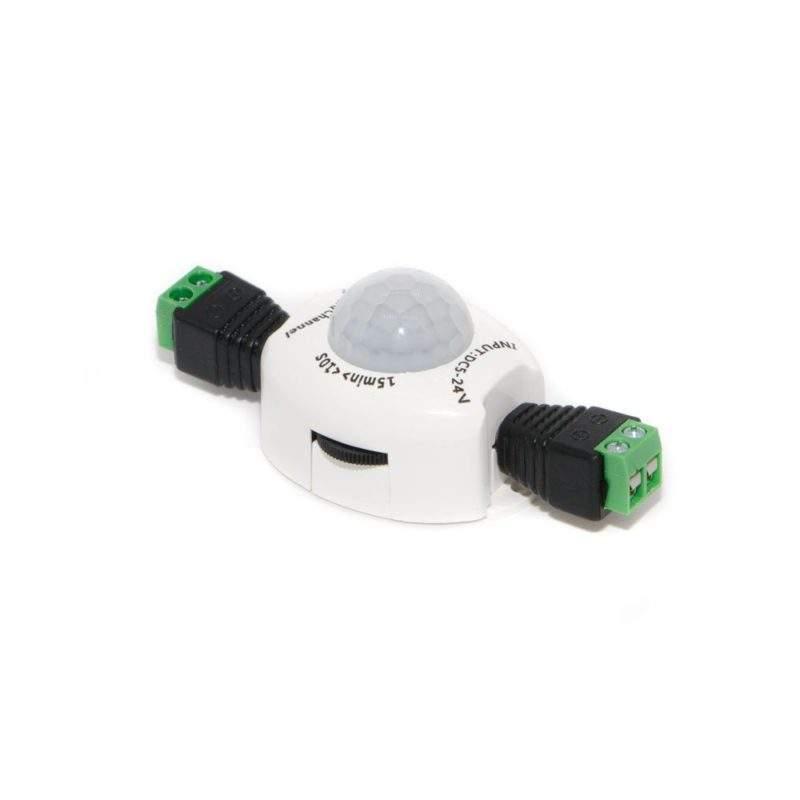 Датчик движения 12 V (вольт) PIR-03 с коннекторами фото