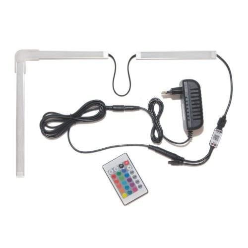 светодиодная лента rgb 5050 с пультом и wifi управлением работающая с алисой фото