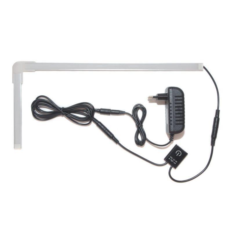 подсветка для угловой кухни с выключателем «Взмах руки» лента Standart в профиле фото