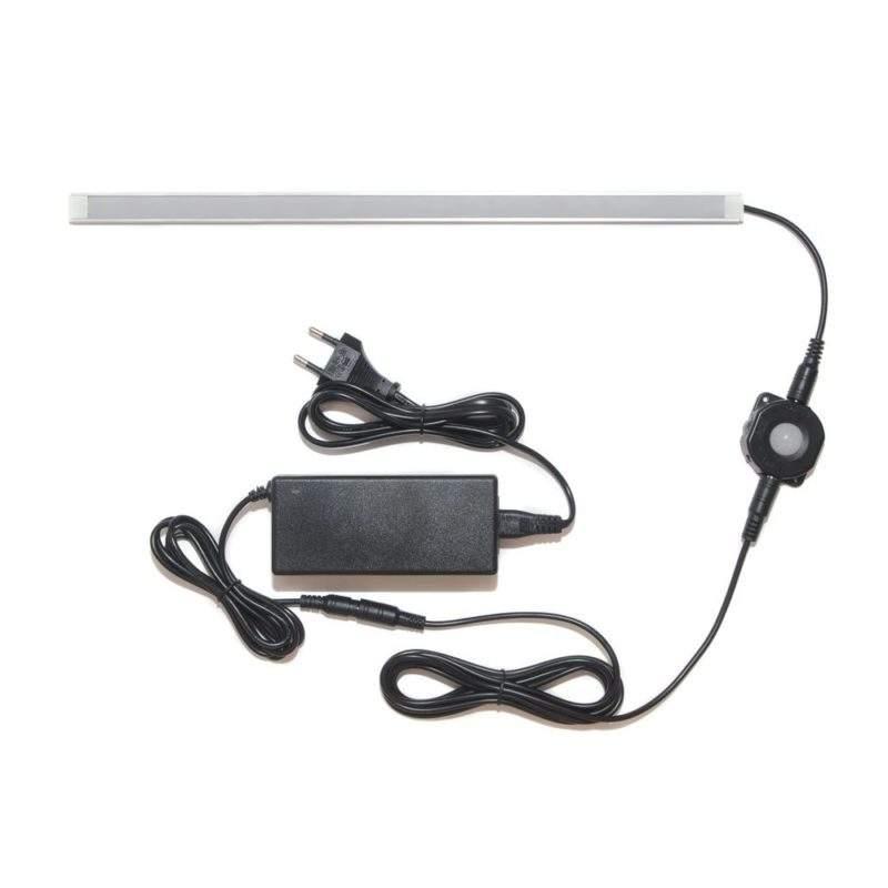 универсальная подсветка с датчиком движения лента Lux в профиле фото