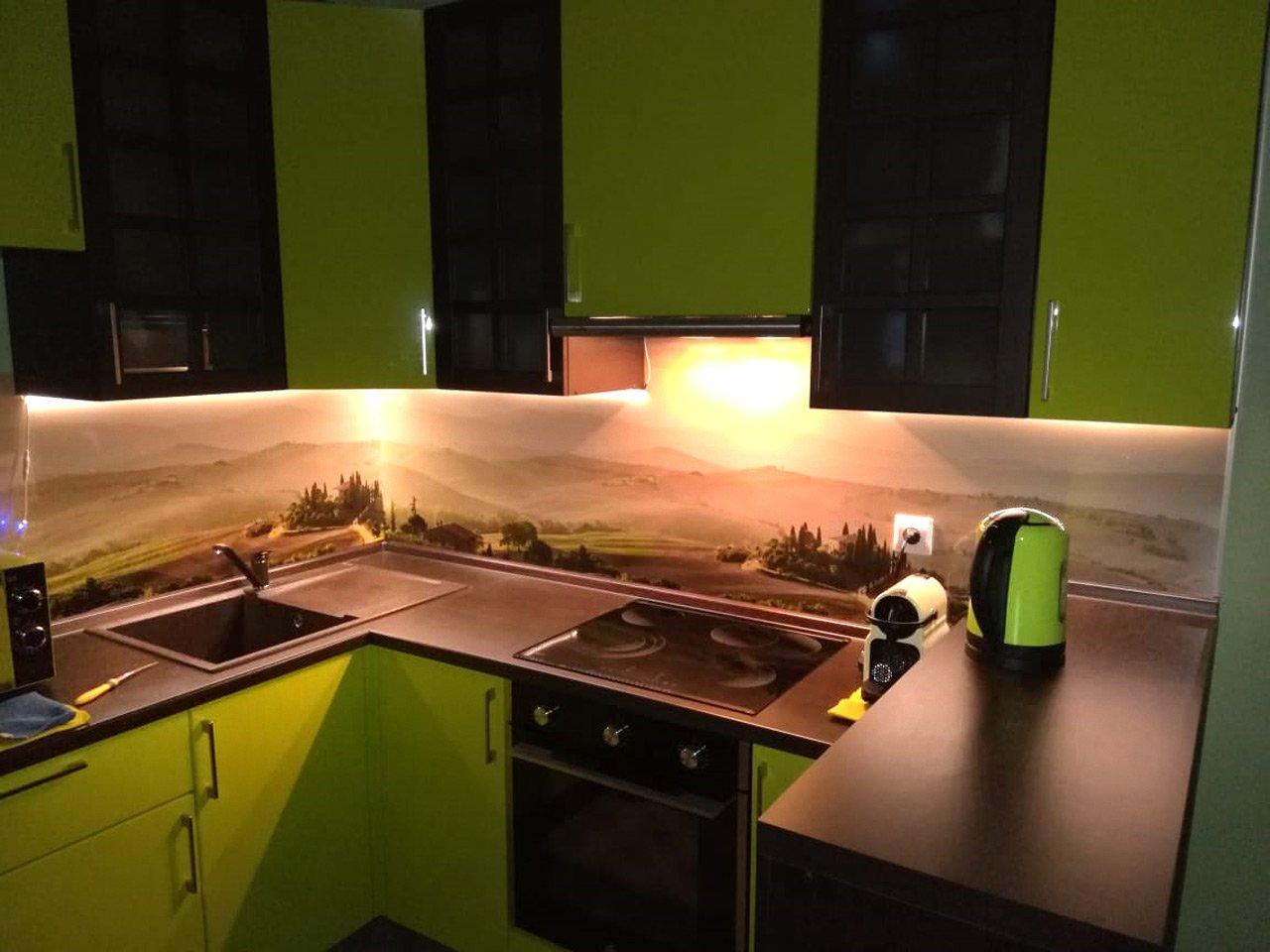 Подсветка угловой кухни с разрывом с сенсорным выключателем отзыв iqlux Алексей 20_04_20 фото