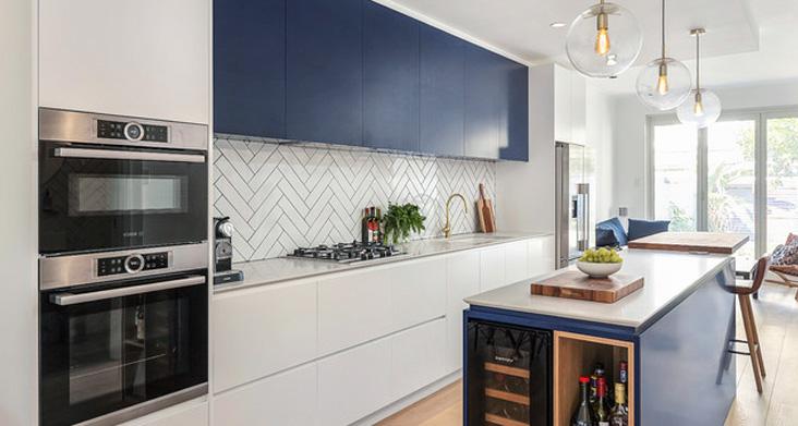модерн сочетание цветов на кухне фото