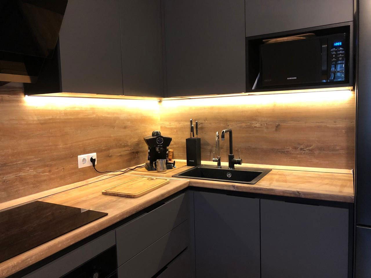 подсветка угловой кухни с сенсорным выключателем отзыв iqlux артем 19_05_20 фото
