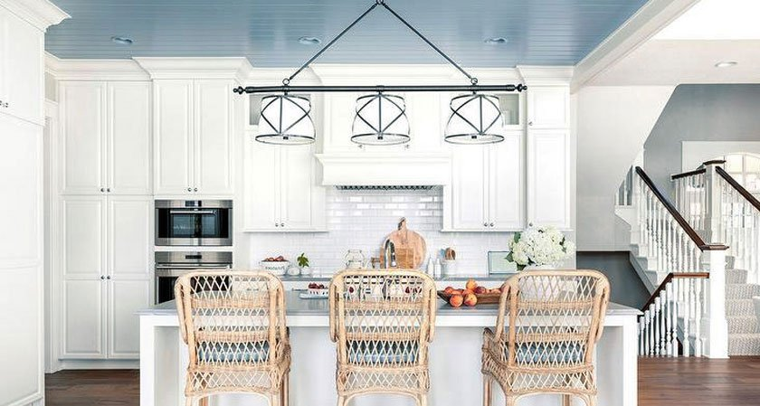 потолок на кухне варианты отделки эконом класса фото