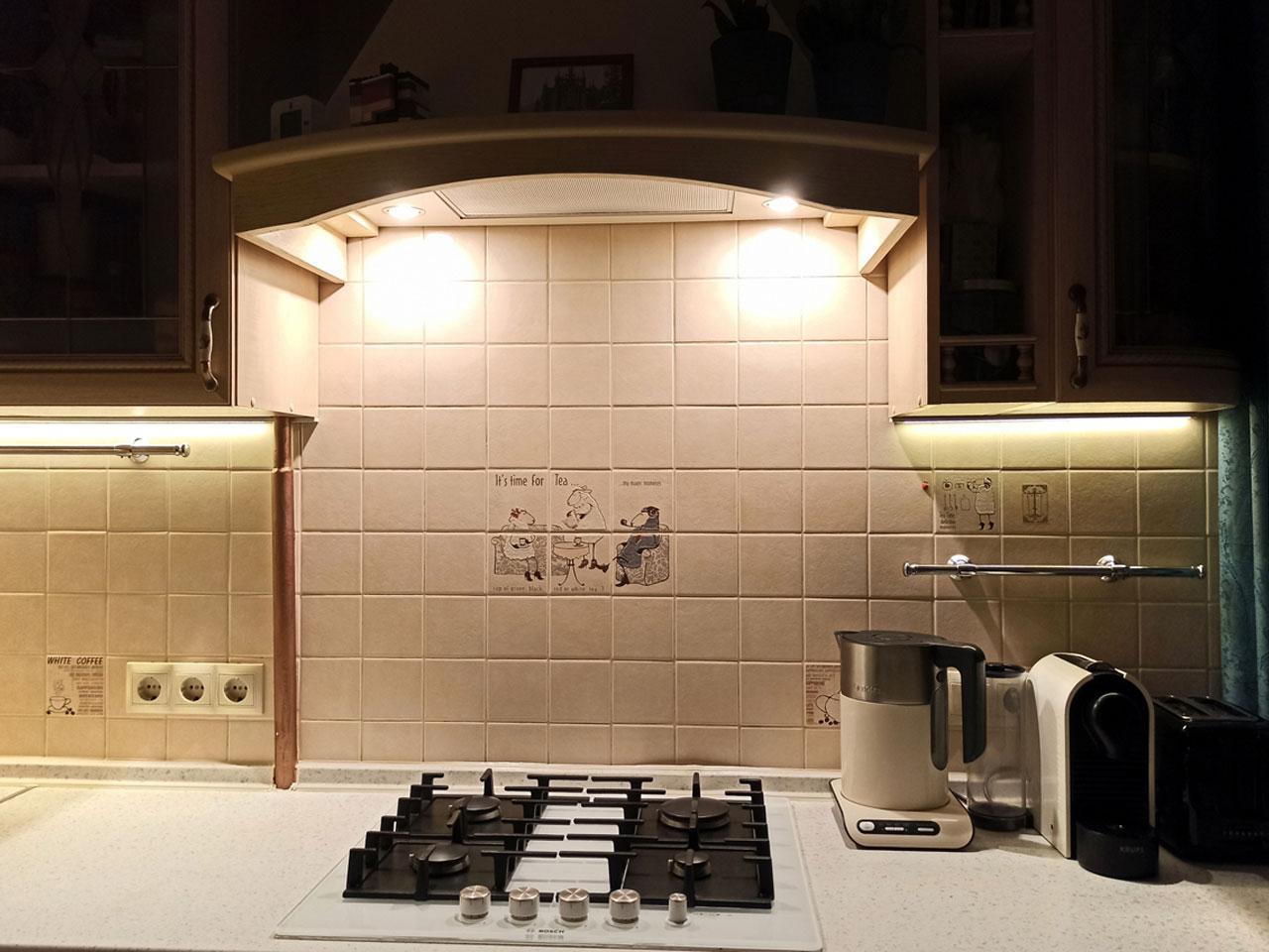 Отзыв Iqlux Виталий, Москва 12_08_20 - подсветка кухни