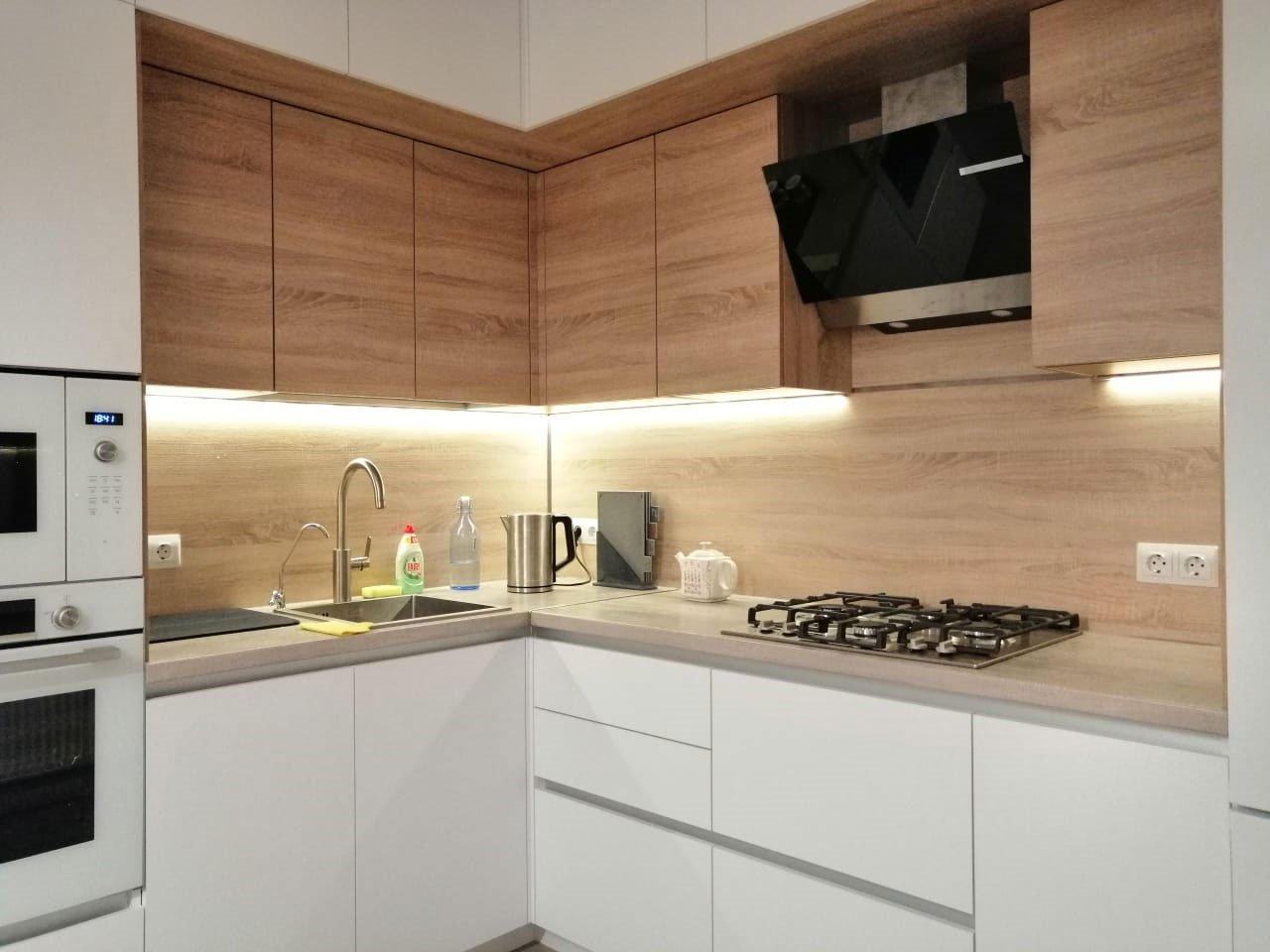 светодиодная подсветка для кухни под шкафы — купить набор фото
