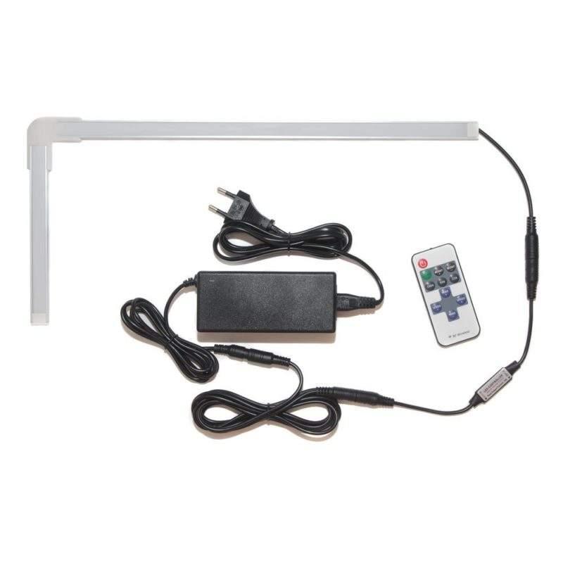Светодиодный угловой светильник для кухни под шкафы фото