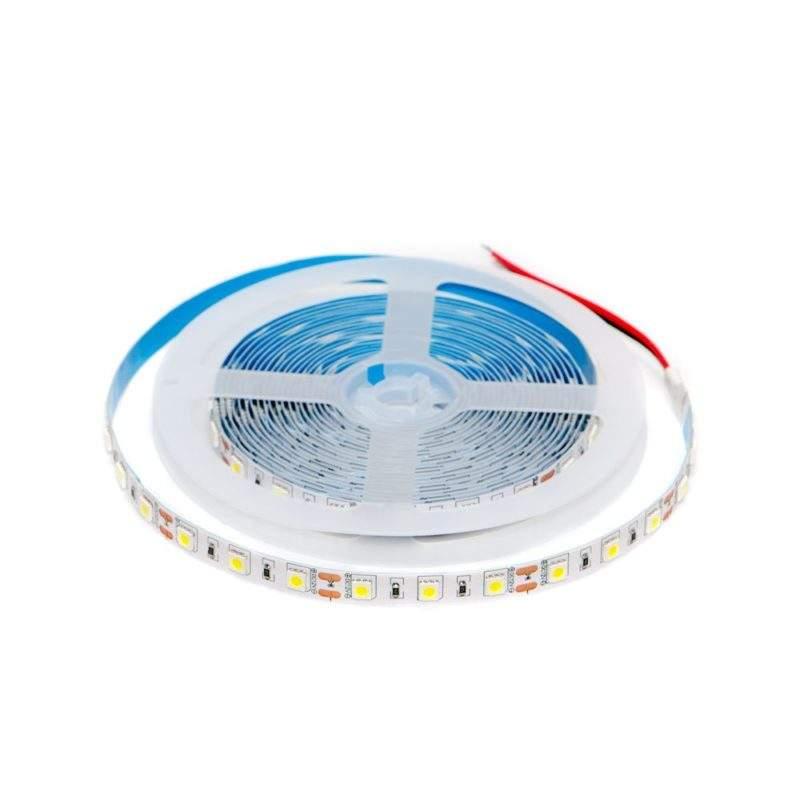 Светодиодная лента 12 V (вольт): Premium, дневной, SMD 5050, 5 метров, 14,4 W (вт), LED 60 шт/м, IP33 фото