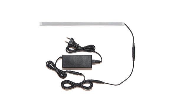 Универсальная подсветка с беспроводным выключателем Iqlux готовый набор, лента Premium в профиле