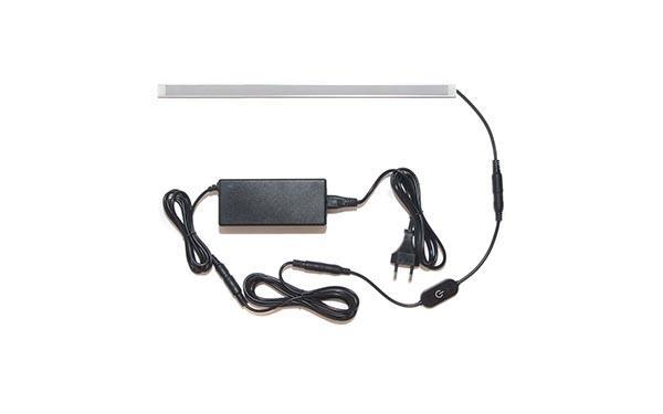 Универсальная подсветка с сенсорным выключателем: лента Lux в профиле