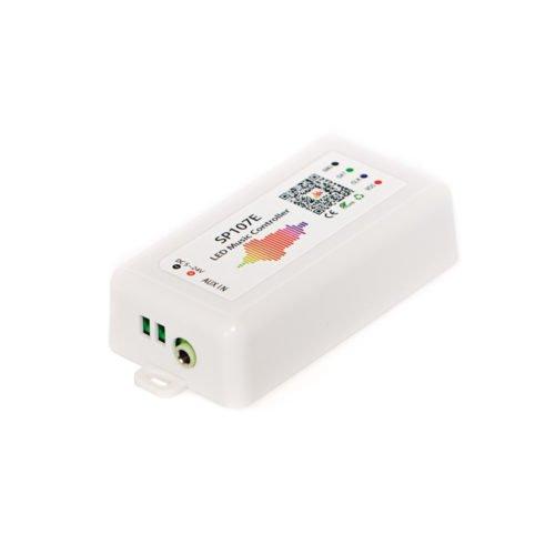 Музыкальный bluetooth контроллер для SPI ленты (бегущий огонь) SP107e без пульта фото